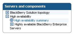BES High Availability Summary