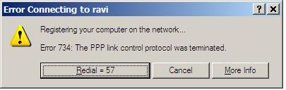 PPP Error