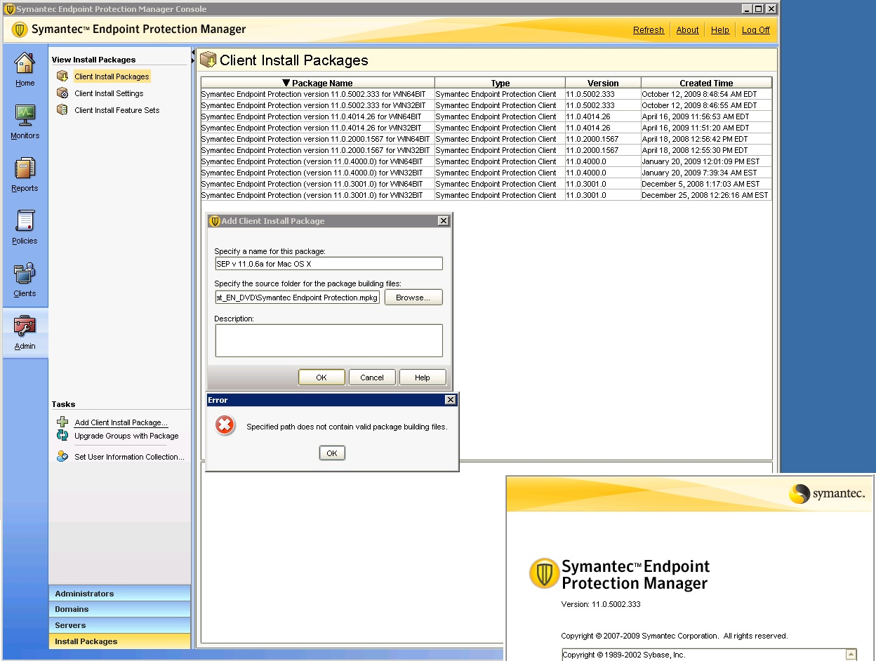 Symantec endpoint protection 11 some clients not updating