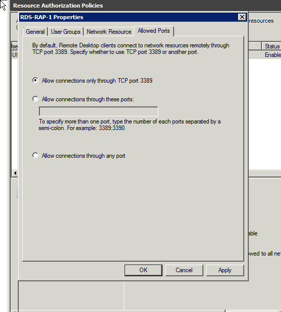 Solution Why Is The Default Port For Rd Gateway 3389