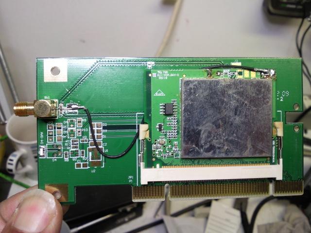 EDUP wireless PCI internals 2