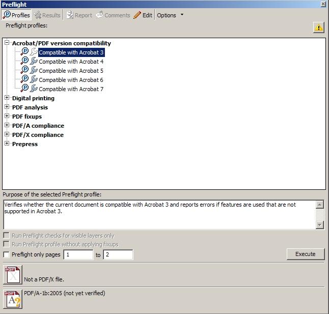 Remove PDF A information
