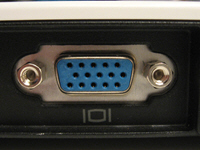 Analog VGA Port