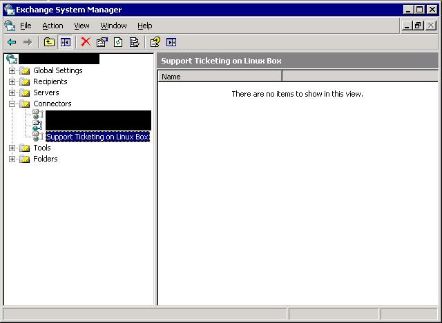 Create SMTP send connector - step 4.