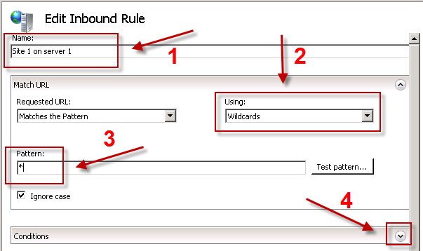 Simple ARR routing - step 7