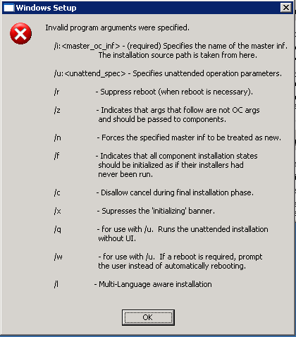 File Server Error screenshot