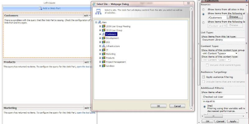 Screenshot showing the errors.