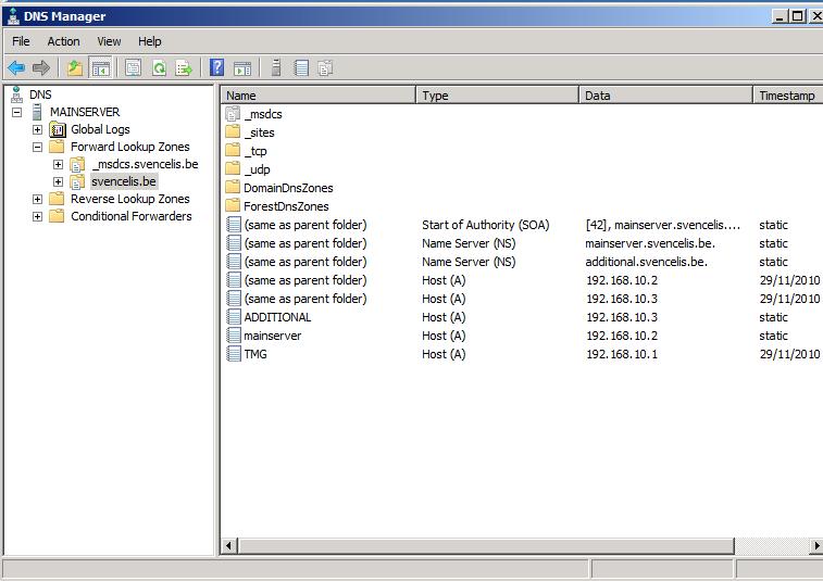 primary server DNS
