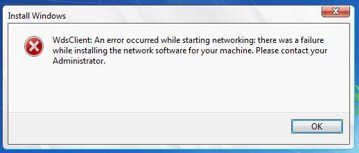 Net error