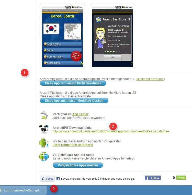 GeoStar Lite apk download on androidpit.de