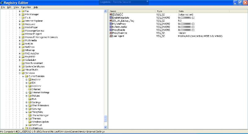 and this is 2-1-5-18 after cleaning - no proxy server