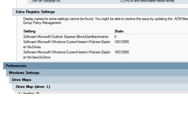 Remove ADM Template In Group Policy - Map policy template