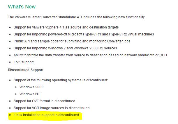 Converter Linux Support