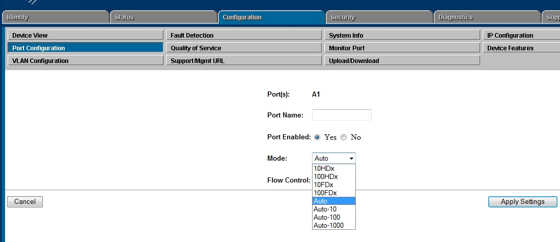 Steps to configure LACP on a HP 5406zl switch