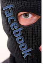 facebook security masked man