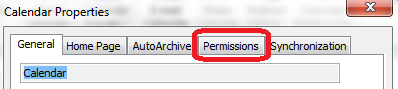 On some I get the Permissions tab