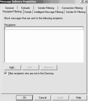 message delivery properties