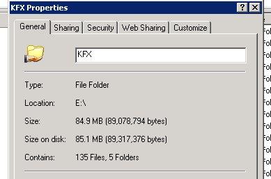 Folder Properties