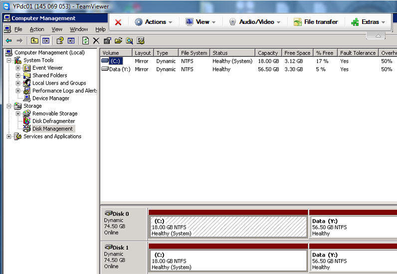 Disk manager image