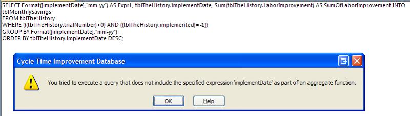 Got this error