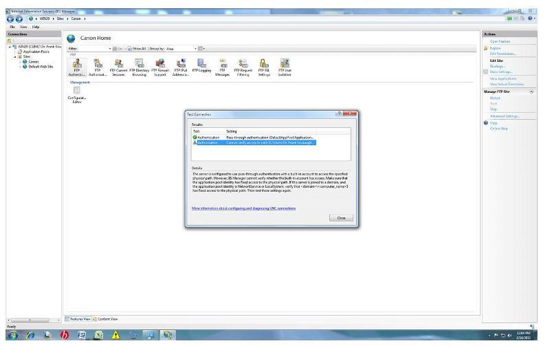 FTP error