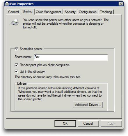SBS2008 Fax