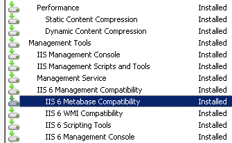 Installed on Server 2008 R2