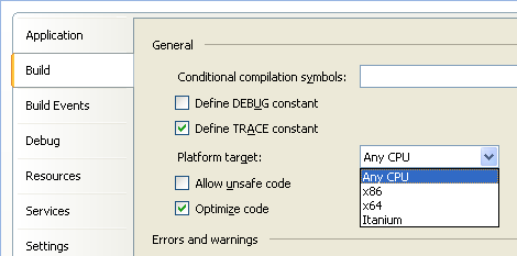 Build Configuration