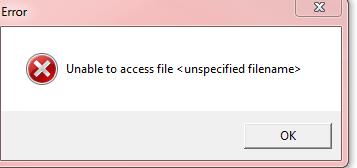 uploading error