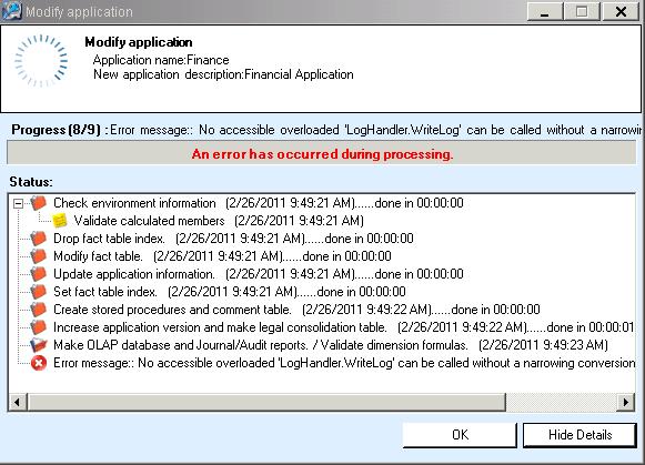 SAP Error