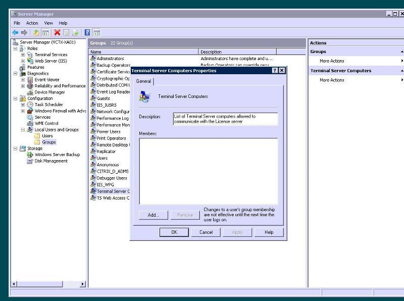Citrix Server
