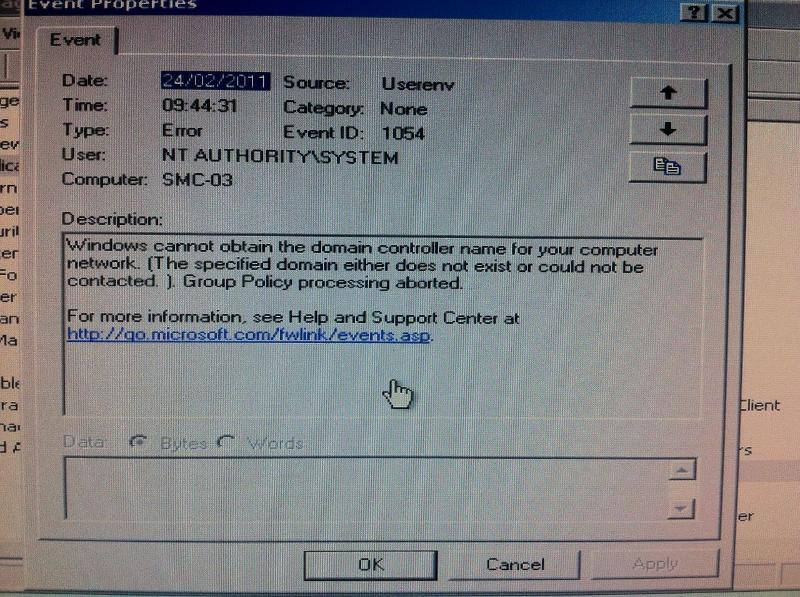 Group Policy issue