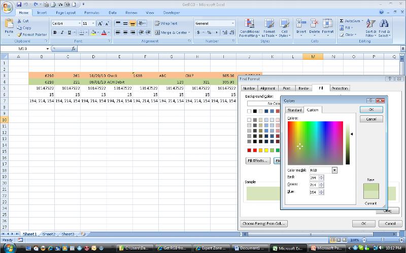 demo RGB