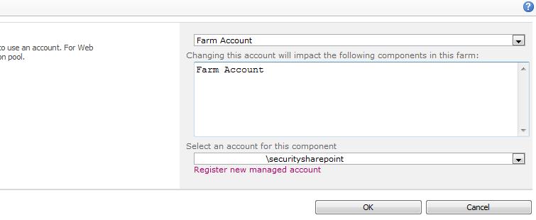 Less Priv account