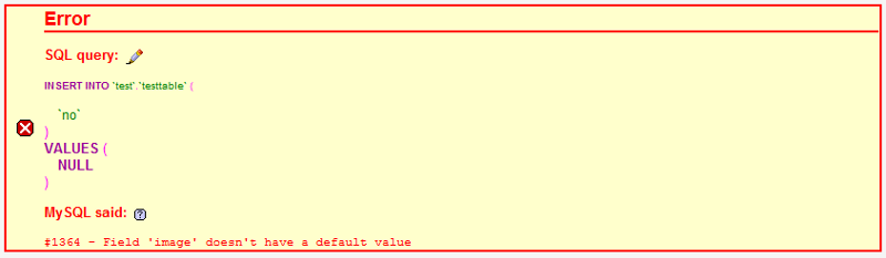 phpMyAdmin SQL Error when inserting a blob file (png in this example)