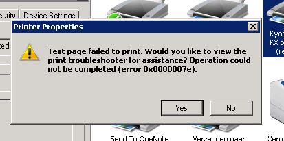 Errorcode TS print