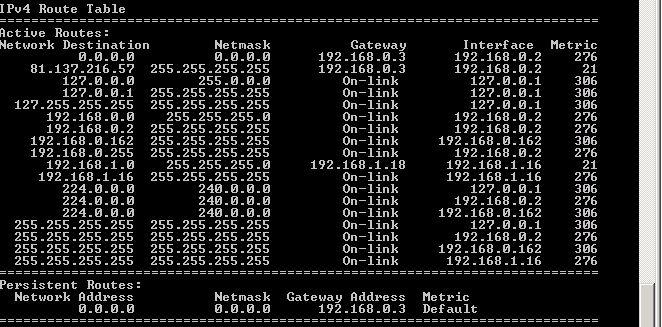 new netstat - remote server