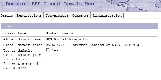 Global Domain Document 1
