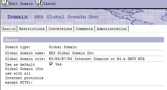 Global Domain Document