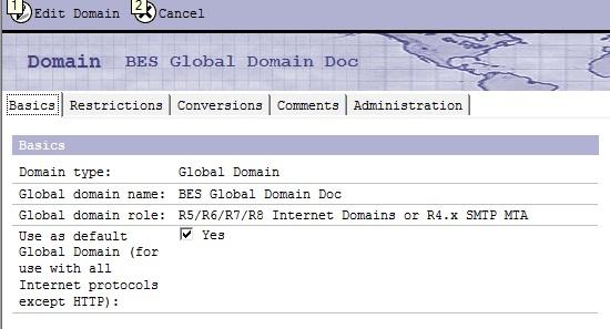 Global Domain Document