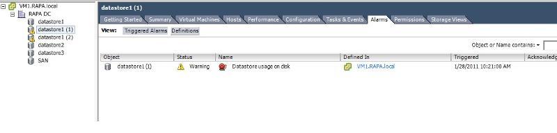 Datastore error