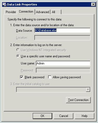 data link properties