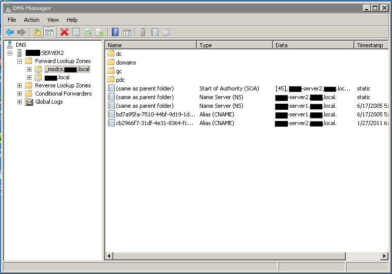 Server2 DNS