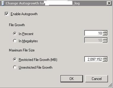 Autogrowth