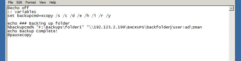 How would I encrypt a password in the cmd prompt that would allow a