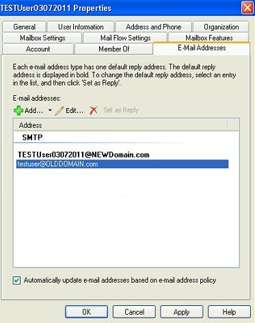 User Screenshot before running script