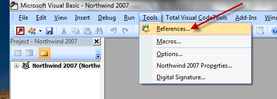 VBA Tool References