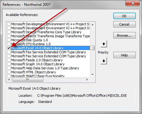 Excel Object