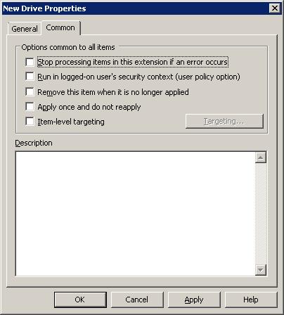 common tab