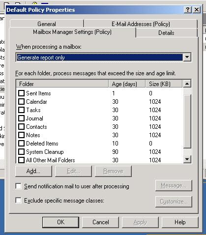 screenprint mailbox manager settings